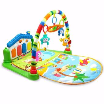 Harga Baby Game Kingdom Discover 'n Grow Kick and Play Piano Activity Play Gym