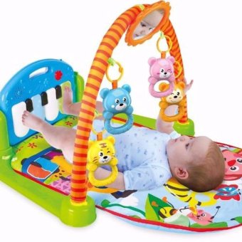 Harga Grow Up Happily Multifunctional Piano Fitness Rack (Boy)