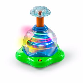 Harga Bright Starts Press & Glow Spinner