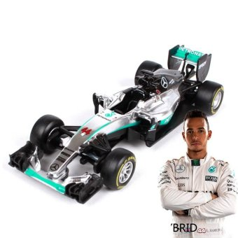 BBurago 1:43 - 2016 Mercedes AMG Racing F1 W07 Hybrid #44 Lewis Hamilton die-cast model cars - intl Price Philippines