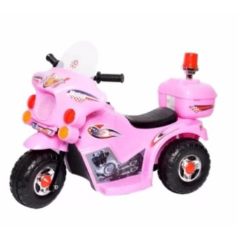 Harga Rechargeable Ride-on Police Motorbike / Motorcycle for Kids