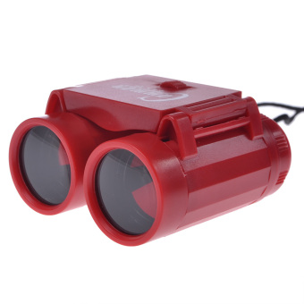 Harga Children Kid Binoculars Telescope Toy Gifts for Kids 2.5x Red - Intl