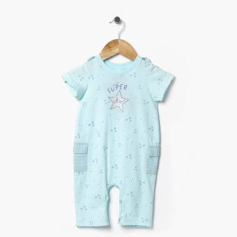 Harga Hush Hush Boys Superstar Bodysuit (Blue Green)