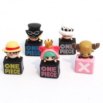 One Piece Luffy Sabo Chopper Law Sugar Vol3 Anime PVC Mini Figure Model Toy In Box Price Philippines