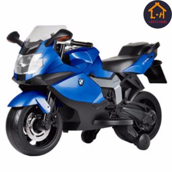 Harga LOVE&HOME BMW Ride-On Motorcycle for Kids (Blue)
