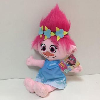 High Quality 36cm The Good Luck Trolls Doll Poppy Branch Plush Toys Grils' Dolls Gifts for Children - intl Price Philippines