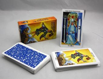 Harga New Radiant Rider Tarot Cards English Version Best Quality Board Game Playing Cards for Party Cards Game - intl