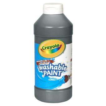 Harga Crayola Washable Paint 473.1ml (Black)