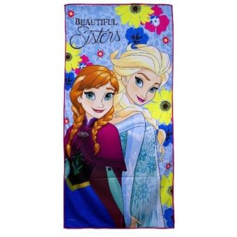 "Frozen Elsa & Anna Microfiber Bath Towel 24""x48"" (multi-color) Price Philippines"