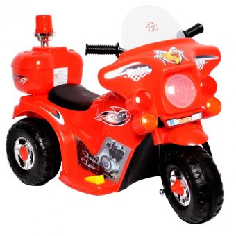 Harga YX-800 Kids Rechargeable Ride On Motor Bike (Red)
