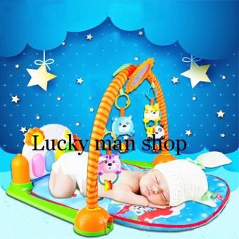 Harga LAZADA BEST Discover 'n Grow Kick and Play Piano Gym