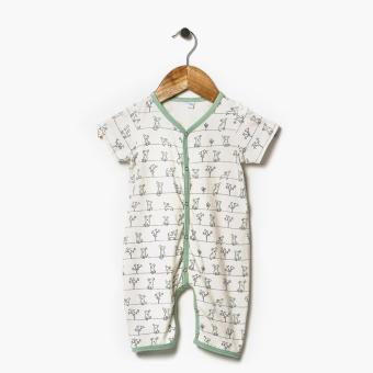 Harga Hush Hush Boys Doggie Allover Bodysuit (Cream)