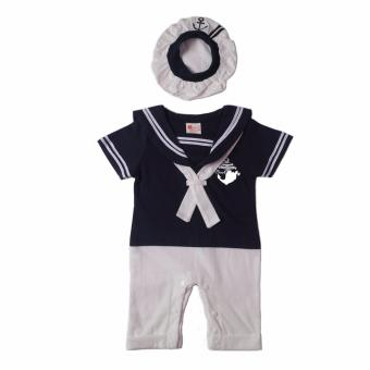 Sailor Romper (Navy Blue) For Baby 12 to 18 Months Old Price Philippines