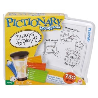 Harga Mattel Games Pictionary Frame Game