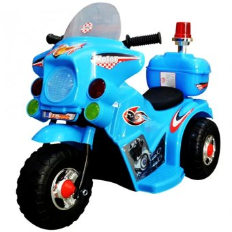 Harga YX-800 Kids Rechargeable Ride On Motor Bike (Blue)