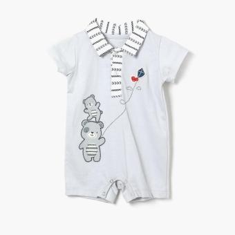 Harga Hush Hush Boys Bear Kite Romper (Gray)