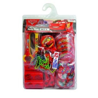 Disney Cars Party Pack Set C- Party Supplies