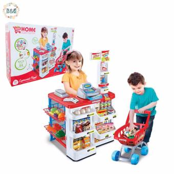 D&D Plastic ABS Simulation Cash Register Toys Home Supermarket Shopping Channel for Kids House Game Playsets Price Philippines