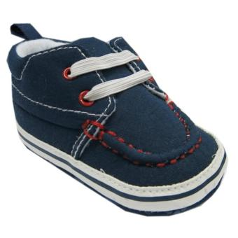 Rock A Bye Baby Pre-Walker Navy Canvas Sneaker For 6-12 Months Old Price Philippines