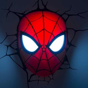 Harga Spiderman Mask 3D FX Light