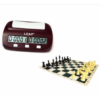 Harga Eureka Chess Set with Leap Digital Chess Timer