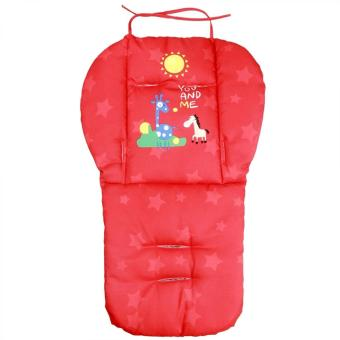 Baby Infant Stroller Seat Pushchair Cushion Cotton Mat Red Price Philippines