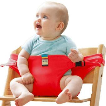 Baby Infant Kid Dining Chair Safe Belt Harness Feeding Strap Mommy Assistant red Price Philippines