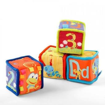 Harga Bright Starts Grab & Stack Blocks