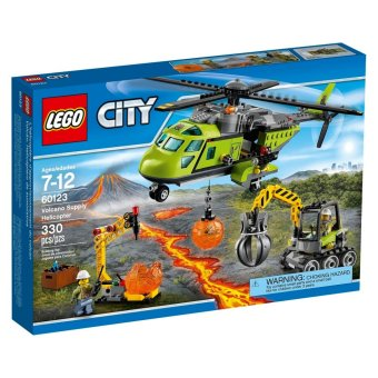 Harga LEGO City Volcano Supply Helicopter