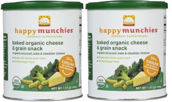 Happy Baby Baked Organic Happy Munchies 46g Bundle of 2 (Broccoli and Cheddar) Price Philippines