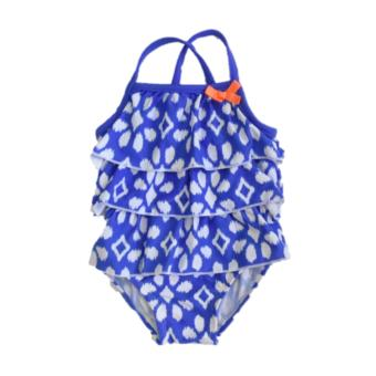 Carter's Baby Girl Ruffled Blue Swimsuit (3 months) Price Philippines