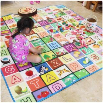 New 2017 Best Store Baby Shop Baby Foam Crawl Play Mat Carpet Playmats Blanket Rug Fruit Price Philippines