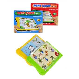 Learning Electronic Book Mini Game- Set of 2 (Assorted Design) Price Philippines