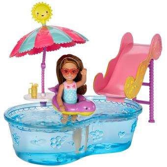 Harga Barbie® Club Chelsea™ Pool & Water Slide