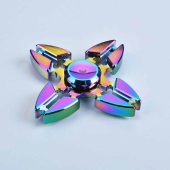 Gyro Finger Spinner Fidget 4 Cornor Crab Feet For Relieve Stress - intl Price Philippines
