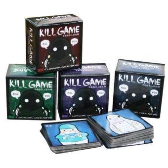 1 Box Kille Game Q Version Kill Card Game Family Friends Party Board Game - intl Price Philippines