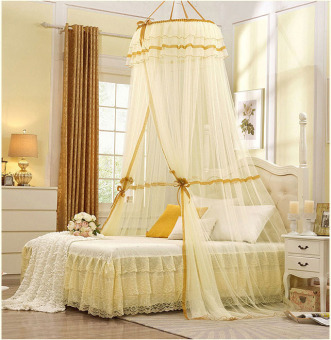 Harga Bed Mosquito Nets for Adult And Children Beige - intl