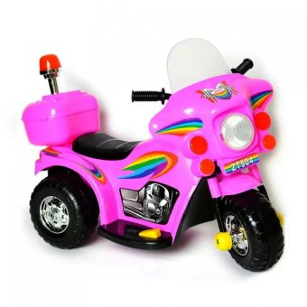 Harga YX-800 Kids Rechargeable Ride On Motor Bike (Pink)