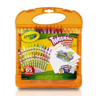 Harga CRAYOLA Twistable Colored Pencils Kit