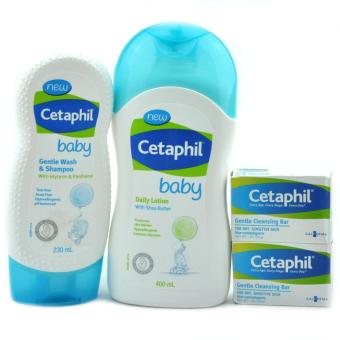 Harga CETAPHIL Baby Bundle Cleansing Collection