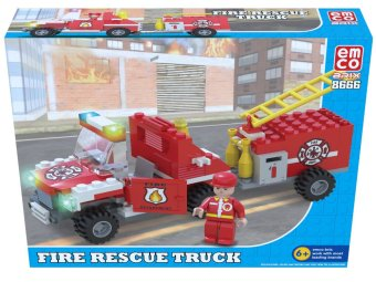 Emco Fire Rescue Truck Building Blocks Toy Price Philippines