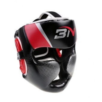 MagiDeal Detachable Bar Headgear Boxing Helmet Martial Arts Gear MMA Protector Red - intl Price Philippines