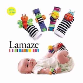 Harga Lamaze Baby toys set of Wrist and Foot finder for Developing Locomotor
