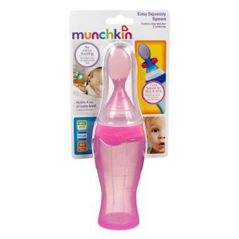 Harga Munchkin Easy Squeezy Spoon (pink)