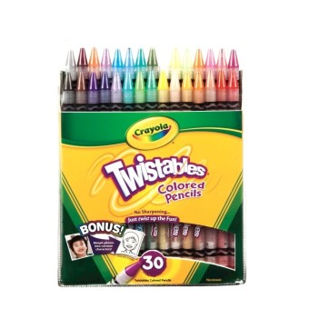 Harga CRAYOLA 30 ct. Twistables Colored Pencils