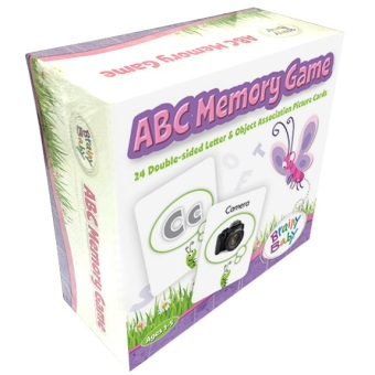 Harga Brainy Baby ABCs Memory Game (Puzzles and Games)