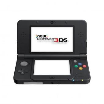 Harga Nintendo New 3DS HW Black Pal Version