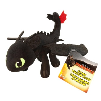Harga DreamWorks Dragons: How To Train Your Dragon 2 - 8` Plush - Toothless 22CM - intl