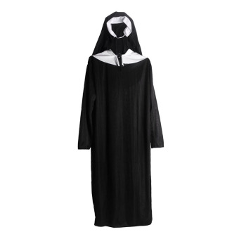 Andux Women's Cosplay Nun Costume SS-XNF01 Black Price Philippines