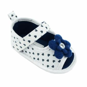Nursery Time Baby Girl Shoes (Navy) For 6 to 12 Months Old Price Philippines